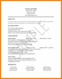 Resume Litigation Paralegal Resume Template Httpwww Resumecareer