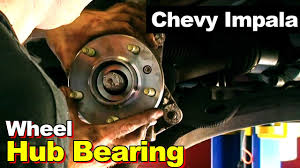 2002 Chevrolet Impala Wheel Hub Bearing - YouTube
