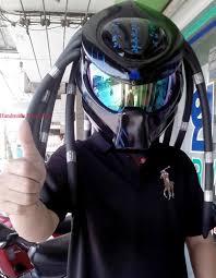 custom predator motorcycle helmet predator helmet on artfire