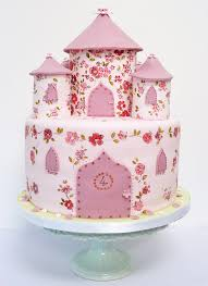 Pretty 4th Girls Birthday Castle Cake Picture Beautiful Cake Pictures