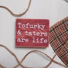 thanksgiving tofurky recipe ideas