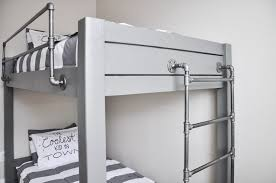 industrial style loft bed. Perfect Industrial Get The Free Plans For This DIY Industrial Bunk Bed On Style Loft Bed