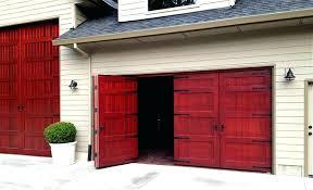 swing open garage door doors weatherproof wood garage door non warping patented for exterior plan large swing open garage door