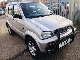 DAIHATSU TERIOS AUTOMATIC 1.3 LIMITED EDITION PETROL LOW MILEAGE ...