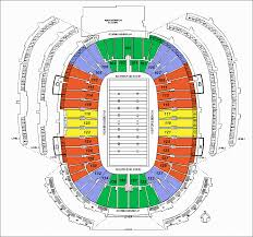 Detailed Seating Chart For Lambeau Field Lambeau Stadium Seating Lambeau Field Green Bay