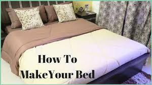 how to make a bed how to put a bed sheet on a bed