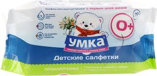 <b>Умка Влажные детские салфетки</b>, 70 шт 870113, код ...