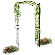 best choice products steel garden arch