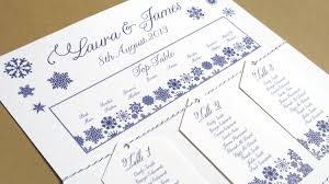 Im Dreaming Of A White Wedding With Every Snowflake Name Card I Write