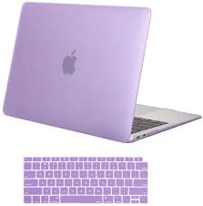 Light Purple Macbook Air Case Mosiso Macbook Air 13 Inch Case 2018 Release A1932 With