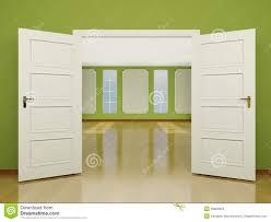 wide open doors. Delighful Doors Download A Wide Open Door Entrance To The Living Room In Classic Style 3  Stock Doors W