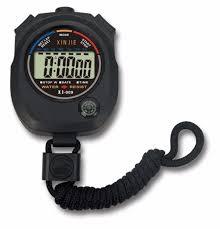 <b>Waterproof Digital LCD</b> Stopwatch Chronograph Watch Timer ...