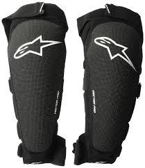 Alpinestars Knee Pad Size Chart Alpinestars Vector Pro Knee Shin Protector 2019 Amazon Co
