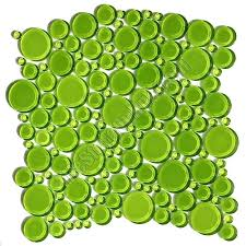 green glass subway tile uk round bubbles mosaic crystal evergreen glossy 2 green glass subway tile
