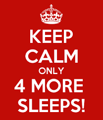 Image result for 4 more sleeps images