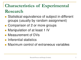 Features Of Good Research Design Ppt Experimental Research Designs Part 2 Powerpoint