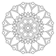 Small Picture Mandala Coloring Pages Printable Mandala Coloring pages of
