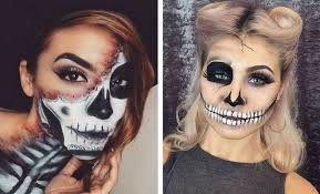 23 cool skeleton makeup ideas to try for