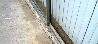 patio door track replacement vinyl patio door track replacement inspirational slide glass sliding patio door threshold
