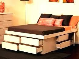 Storage Platform Bed King Gallery Of Storage Bed Frame King Bedroom