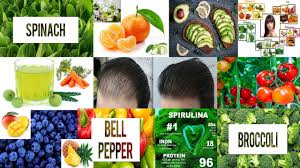 best vegan food to stop hair loss and
