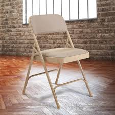 metal folding chairs with padded seats. Perfect Metal National Public Seating 2201 Beige Metal Folding Chair With 1 14 Inside Chairs With Padded Seats
