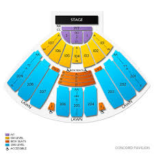 Concord Pavilion Seating Chart With Rows Black Crowes Concord Tickets 9 8 2020 8 00 Pm Vivid Seats