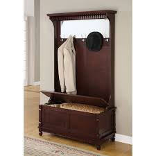 Hallway Storage Bench With Coat Rack Mudroom Hall Storage Bench With Baskets Wooden Hallway Bench Hall 88
