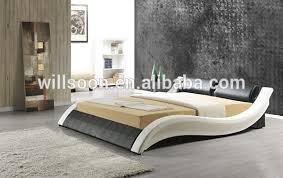 Latest Modern Cushion Design Double Size Pu Soft Bed Frame 1861 ...