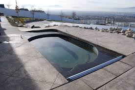 Walk In Pools The Pool Cover Specialists Auto Cover For Every Pool Shape