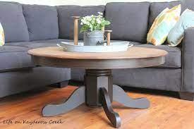 diy round farmhouse coffee table life