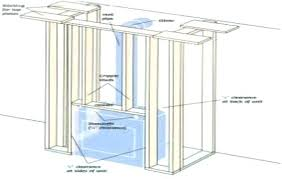 gas fireplace framing framing for gas fireplace gas fireplace venting code gas fireplace framing framing gas