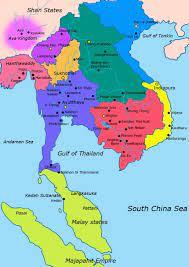 Museo Siam mappa - Siam museo mappa (Sud-Est Asiatico - Asia)