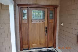 craftsman style front doorsModern White Residential Front Doors And Craftsman Style Fir Grain