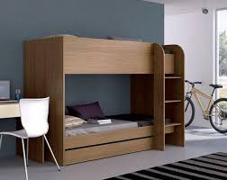 ... Stylish Bunk Beds Great Modern Moon Childrens Bunk Bed In Various Wood  And Matt Lacquer ...