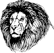 Small Picture Free Lion Coloring Page Clipart 1 page of Public Domain Clip Art