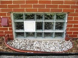 installation glass block basement windows