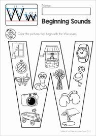 Print the word family endings flashcards plus the lower case letters flash cards to play the word families card game or spelling go fish. Phonics Letter Of The Week W By Lavinia Pop Teachers Pay Teachers