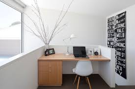 modern office decor. Interesting Modern TheSharpeHousebyLukeStanleyArchitects Cool And Modern Inside Modern Office Decor J