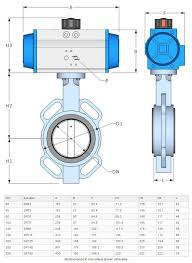 Butterfly Valve Size Chart Bfk Butterfly Valve For Air And Water 65 Mm 2 1 2 Inch