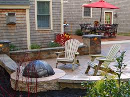 Patio Design Ideas With Fire Pits seating is important