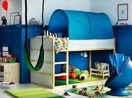 ikea kids bedroom ideas. Create A Blue And White Children\u0027s Bedroom That Dreams Are Made Of With KURA Reversible Bed Ikea Kids Ideas C