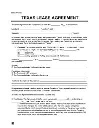 texas residential lease al