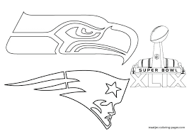Small Picture Super Bowl Coloring Sheets 2016 More Pages On Football Bowls