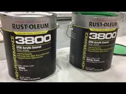 Rust Oleum Industrial 3800 System Dtm Acrylic Enamel