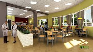 Modern Hospital Interior Design Artstation 3d Modern Hospital Lobby Interior Design View