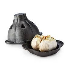 unusual cooking gifts. Brilliant Gifts Cast Iron Garlic Roaster Intended Unusual Cooking Gifts