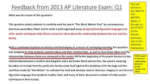 AP Literature  Generic Rubric for In class and Take home Essays
