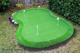 outdoor putting green kits. Putting Green Kits X Kit With Fringe The Rusty Shovel Landscape Pertaining To . Outdoor