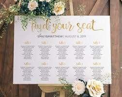 plan wedding reception wedding table plan etsy